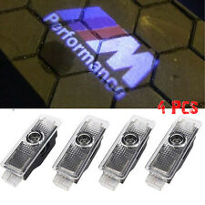 4Pcs LED Car Step Logo Welcome Lights Laser Shadow Door Projector fit for BMW