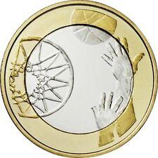 Einzelne Euro-Kursmünzen aus San Marino