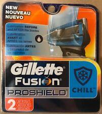 Gillette Fusion ProShield Chill Men's Razor Blades, 2 Blade Refills