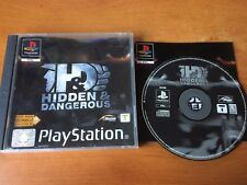 HIDDEN AND DANGEROUS pour playstation 1 ps1 ps one complet