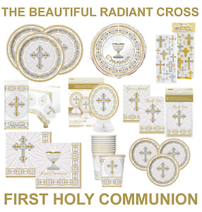 1st / FIRST HOLY COMMUNION / CONFIRMATION / CHRISTENING Party Decorations CROSS
