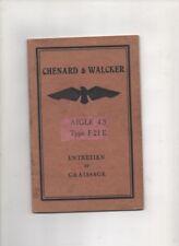 CHENARD & WALKER   Aigle 4S type  F 21 E