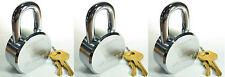 Lock Set by Master 6230KA (Lot of 3) KEYED ALIKE Solid Steel Extreme Security