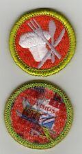 "Cooking (Green Brd) Merit Badge, Type J ""Scout Stuff"" Back (2002-10), Mint!"