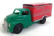 Vintage 1950's Hubley Kiddie Toy Plastic Motor Express Truck # A34