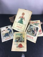 Two c 1926 1922 1920 Recipe Booklets For Jell-o and Jell-o Ice Cream Powder mmmm