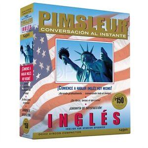 NEW 8 CD English for Spanish Speakers  Ingles Pimsleur ESL (16 Lessons)
