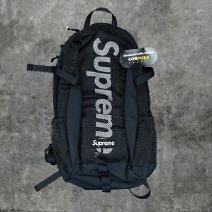 Supreme SS20 Black Mesh Backpack