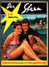 Stella N. 29 19.7.1958 Gerlinde Locker Peter Weck (COVER), France Nuyen