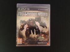 Front Mission Evolved PS3 Play Station 3 PAL ESPAÑOL NUEVO A ESTRENAR PRECINTADO