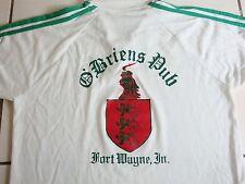 "Vintage ""Doug"" OBrien's Pub Fort Wayne Indiana Irish Bar Collared Polo T Shirt M"