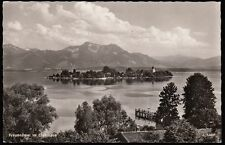 036R  AK   Fraueninsel  im  Chiemsee  -  Frauenchiemsee  Panorama