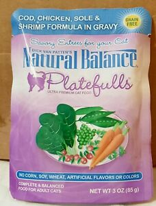 Natural Balance Platefulls Fish & Chicken In Gravy Adult Wet Cat Food(24)