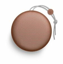 B&O PLAY by Bang & Olufsen Beoplay A1 Bluetooth Speaker with Mic Tangerine Red