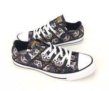 NEW Converse Chuck Taylor All Star Sugar Skull Cats Black White Womens Shoes 6