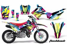 AMR Racing Honda CRF110 F Graphics Kit Bike Decal Sticker Part 13-15 FLASHBACK