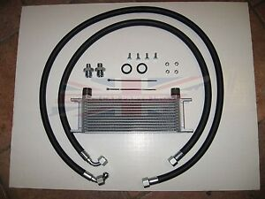 New Oil Cooler Kit with 13 Row Oil Cooler MG Midget Austin Healey Sprite 1275