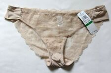 Lacy Beige Panties by Wacoal - Size Large