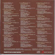 rare BALADA 60s 70 CD sleeve ROCIO DURCAL Juan Gabriel FARSANTE hasta que conoci