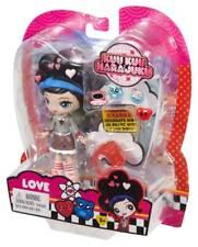 "Kuu Kuu Harajuku 4"" Fashion Doll with Charms and Ring - HJ5 Love Doll  UK SELLER"