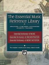 Essential Music Reference Library: 3 Books Box Set by L C Harnsberger BRAND NEW