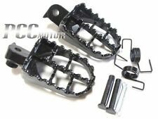 BLACK FOOT PEGS FOOTPEGS FOOTREST YAMAHA PW 50 80 PW50 PW80 50 DIRT BIKE I FP02