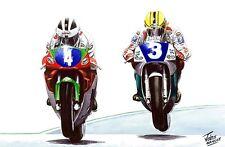 Robert Joey Dunlop Isle of Man TT Motorbike Motorcycle Racing Birthday Card