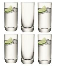 LSA Una Collection Highball Glasses 400ml Clear Set of 6