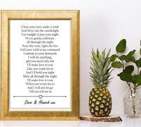Boyz II Men Boyz to Men love personalised gift a4 print valentines anniversary