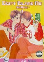 Don't Blame Me Volume 1 (Yaoi): v. 1 by Yamada, Yugi Paperback Book The Fast