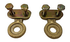 2x Solid brass side post battery cable terminal Wire Automotive posts terminals