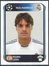 PANINI UEFA CHAMPIONS LEAGUE 2010-11- #441-REAL MADRID-PEDRO LEON