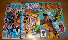 X-Men # 193,194,195 Romita Jr Nm 9.2 Double Size