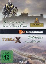 TERRA X - DVD - Die Suche nach dem heiligen Gral / Todesboten aus Alamut ( NEU )