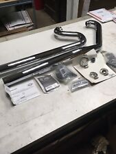 Victory Motorcycle New OEM Chrome Stage 1 Shotgun Exhaust System, Polaris