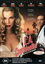 L.A. Confidential (Kevin SPACEY Kim BASINGER Guy PEARCE) Crime Film DVD Reg 4 LA