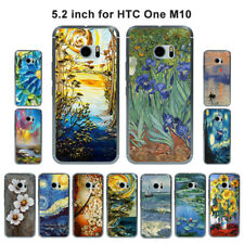 Soft TPU Silicone Case For HTC One M10 Protective Phone Back Covers Skins Retro