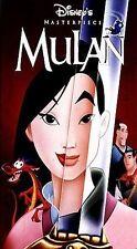 Disney Mulan VHS