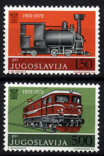 2565 YUGOSLAVIA 1972 LOCOMOTIVE **MNH