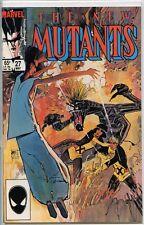 New Mutants 1983 series # 27 very fine comic book