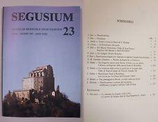 SEGUSIUM Anno XXIII 23 1987 Monte Romuleo Pitture tardogotiche Chianocco