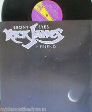 "RICK JAMES & FRIEND ~ Ebony Eyes ~ 12"" Single PS"