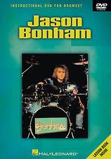 Jason Bonham Didáctico, Aprende A Tocar Pop Metal Rock lección Music Dvd