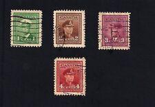 Canada 1942-1943 King George Vi (A)