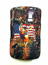 BLACKBERRY CURVE 8300/8320 CAMOUFLAGE WITH AMERICAN FLAG COVER NEW