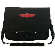 Rothco 8127 Canvas Israeli Paratrooper Bag - Black