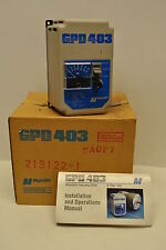 Magnetec GPD403-A0P7 Adjustable Frequency Drive, 3/4HP, 208/230 VAC 3-Phase