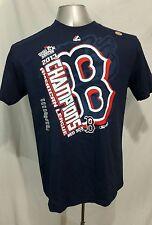 Majestic Boston Red Sox American League Champions T-shirt NWOT Large L