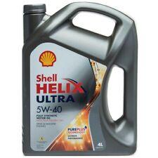 OLIO MOTORE AUTO Shell Helix Ultra 5W40 100% Sintetico 4 L litri Nuova Formula