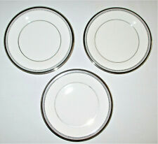 Royal Doulton Sarabande Bread and Butter Plates 3 Pieces